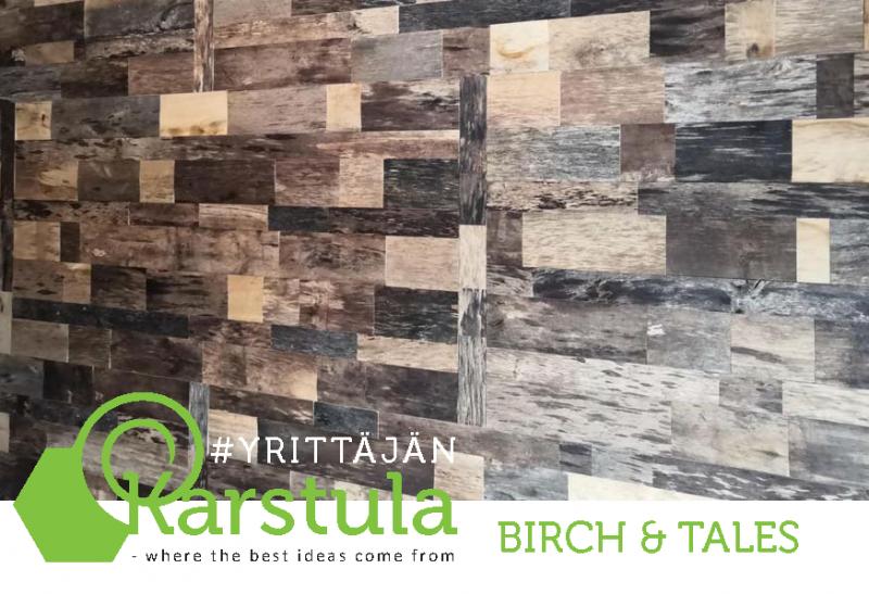Birch & Tales – Sisustuspaneeli suomalaisesta koivupuusta