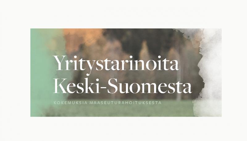 Vuonna 2019 Keski-Suomeen myönnetty yritysrahoitusta maaseuturahastosta 3,64 M€