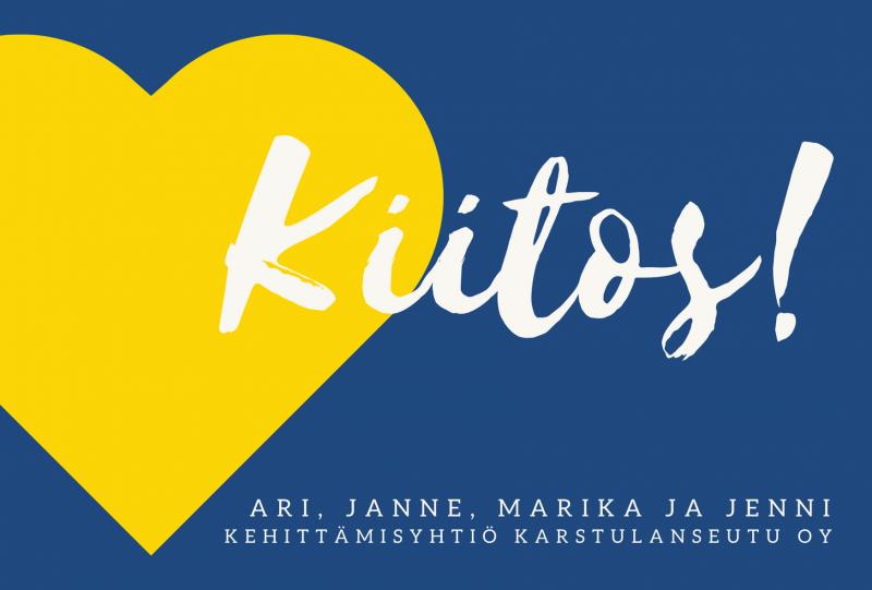 Kuntabarometri 2020: Kehittämisyhtiö Karstulanseutu on Keski-Suomen ykkönen ja valtakunnan toiseksi paras!